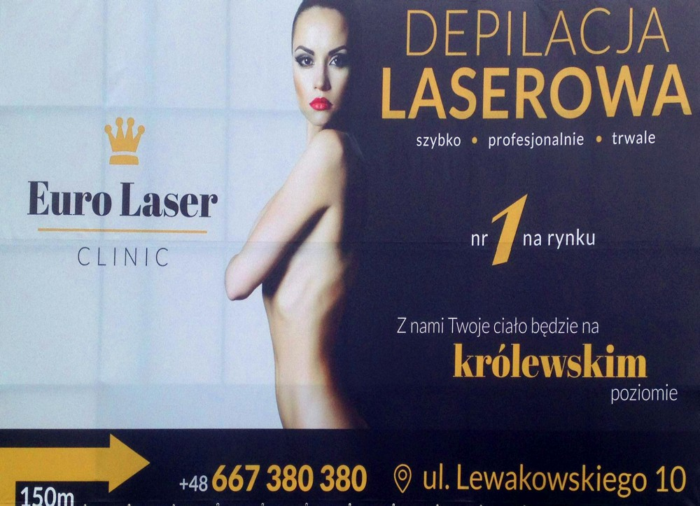 Euro Laser Clinic Banner